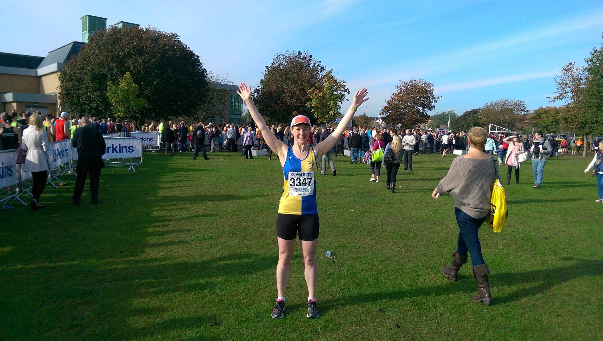 How not to run a half marathon