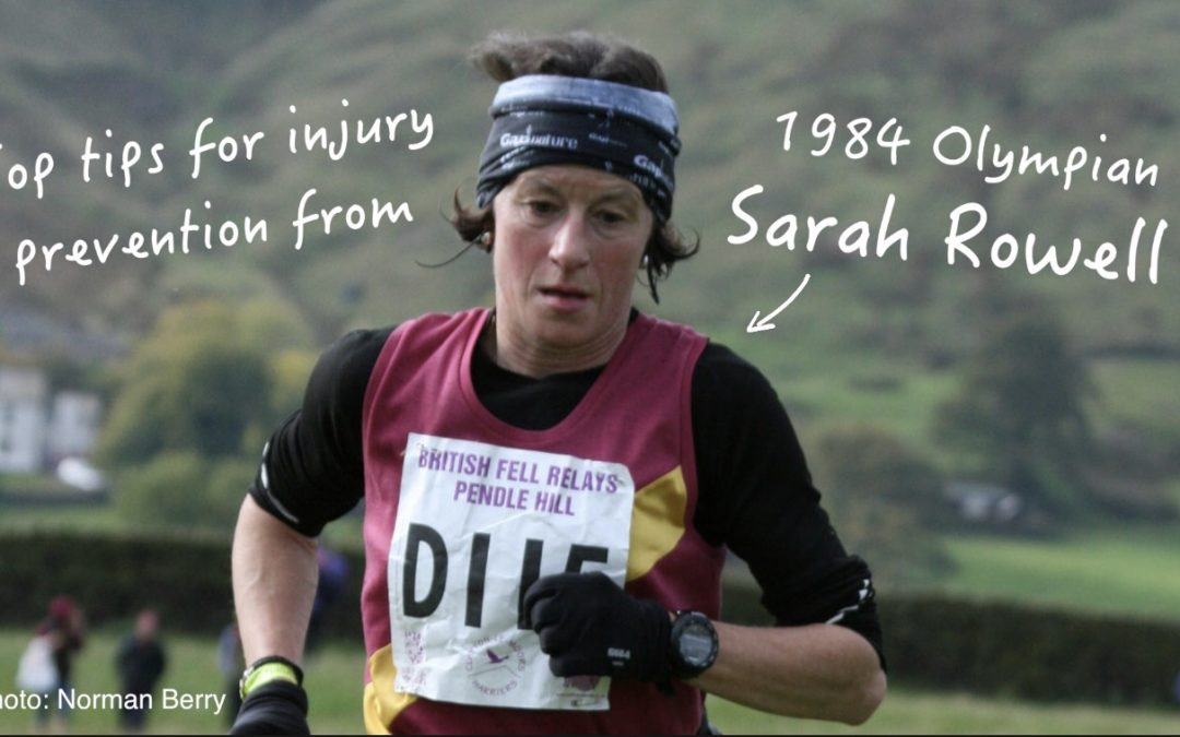 Top tips for injury prevention from 1980's marathon champion Sarah Rowell