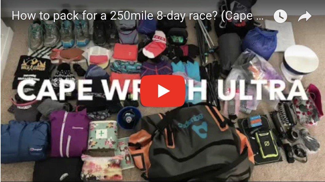 Kit list for Cape Wrath Ultra (250mile 8-dayer)