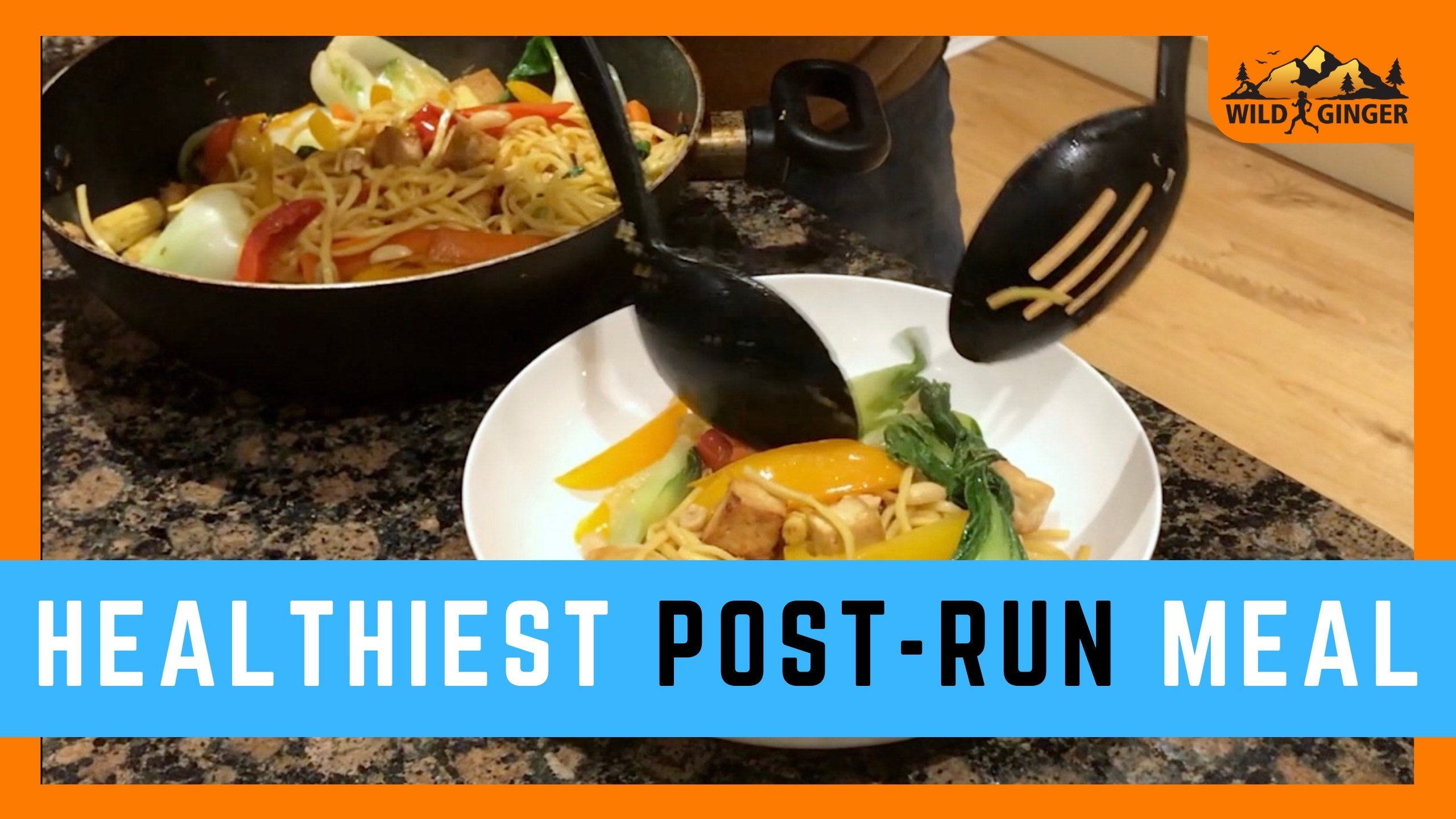 Healthiest post long run meal