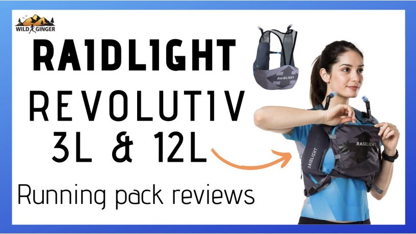Raidlight Responsiv 3L & 12L running pack reviews (NEW front pouch tested!)