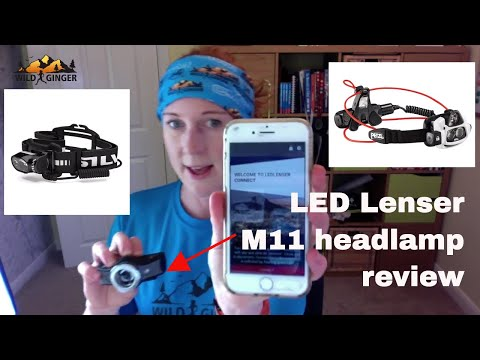 LED Lenser M11 headtorch review