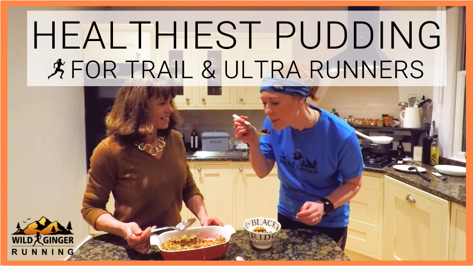 Healthiest dessert/pudding for runners (easy recipe & method)