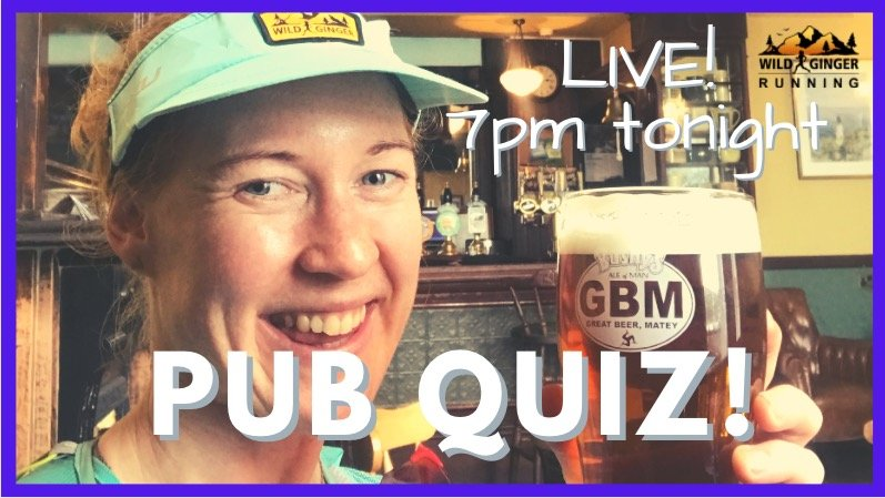 PUB QUIZ 7pm tonight live on YouTube!