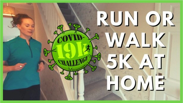 Best way to run or walk 5k in your home & garden (5 tips & motivation)