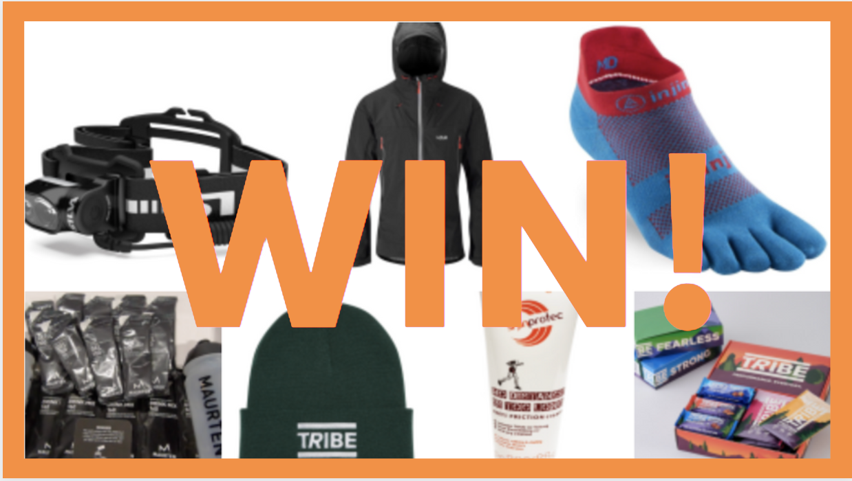 COMPETITION – £400 worth of trail running gear up for grabs every month! (February prize draw)