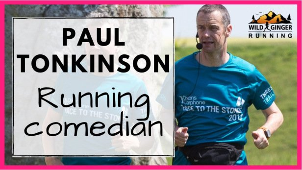 Paul Tonkinson – running comedian, author & podcaster talks red wine & running