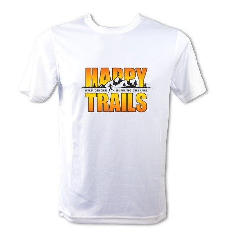 Happy Trails T-Shirt – Men's (Arctic White)
