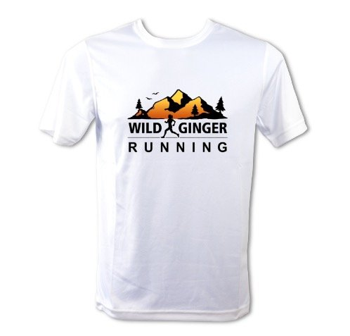 Wild Ginger Running T-Shirt – Men's (Arctic White)