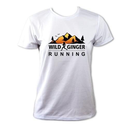 Wild Ginger Running T-Shirt – Women's (Arctic White)