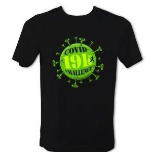 Covid-19k Challenge T-Shirt - Mens (Black)