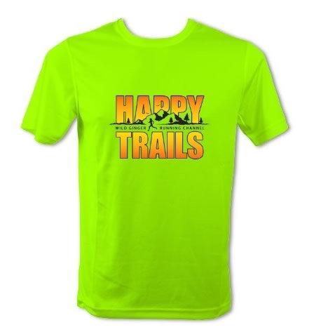 Happy Trails T-Shirt – Men's (Electric Green)
