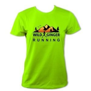 Wild Ginger Running T-Shirt – Women's (Electric Green)