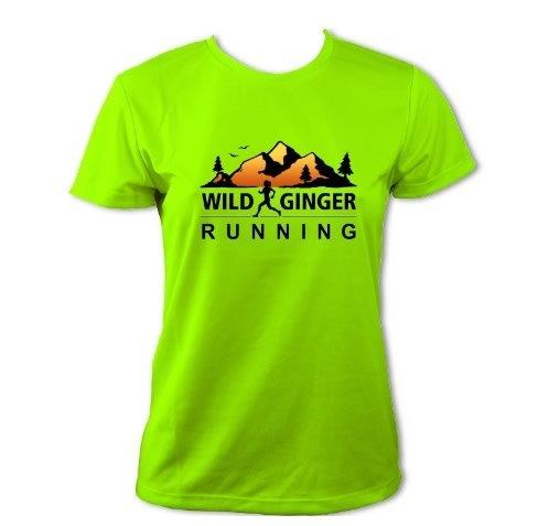 Wild Ginger Running T-Shirt – Women's (Electric Green)