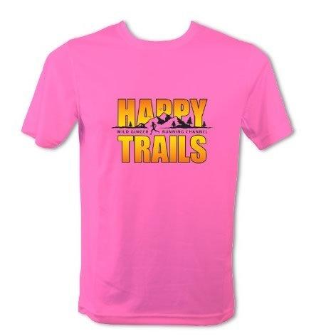 Happy Trails T-Shirt – Men's (Electric Pink)