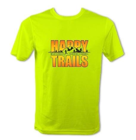 Happy Trails T-Shirt – Men's (Electric Yellow)