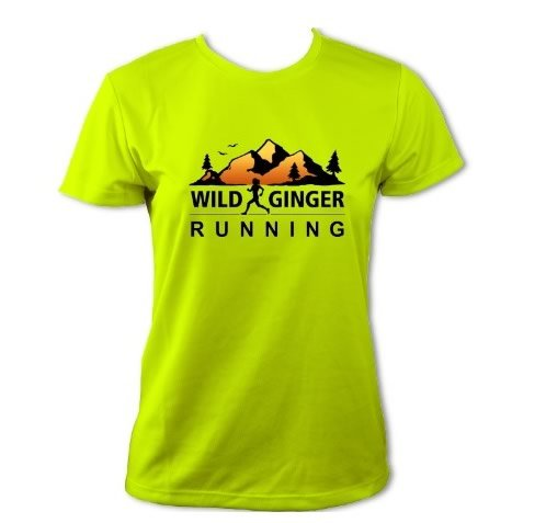 Wild Ginger Running T-Shirt – Women's (Electric Yellow)