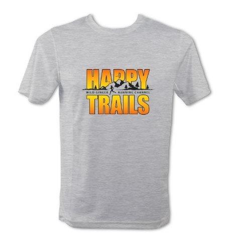 Happy Trails T-Shirt – Men's (Heather Grey)