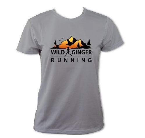 Wild Ginger Running T-Shirt – Women's (Heather Grey)
