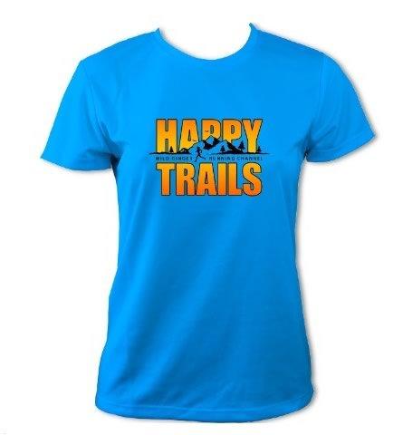 Women's Happy Trails T-Shirt (Sapphire Blue)
