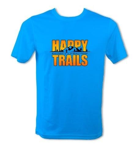Happy Trails T-Shirt – Men's (Sapphire Blue)