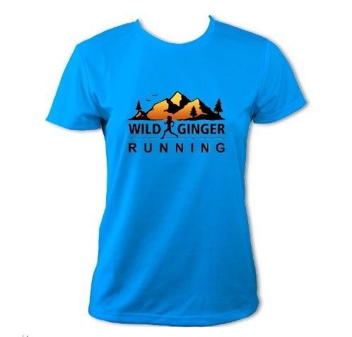 Wild Ginger Running T-Shirt – Women's (Sapphire Blue)