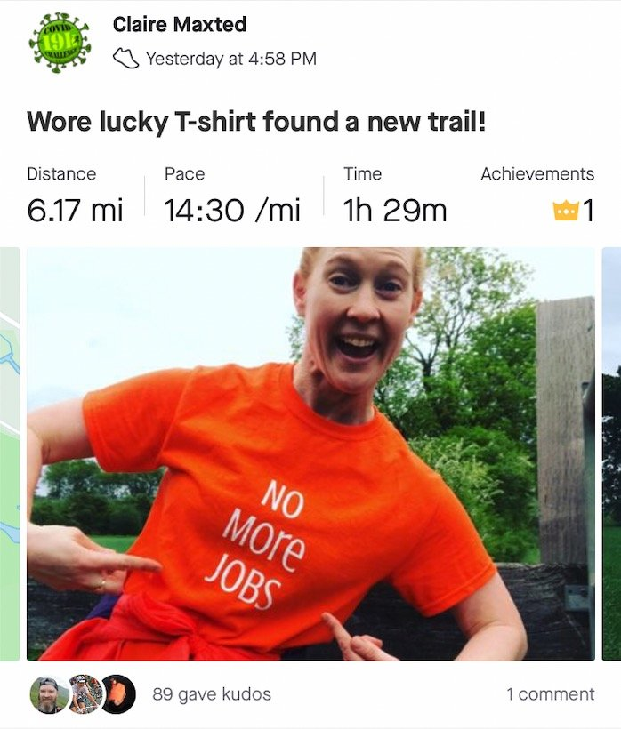 Wild Ginger Running on Strava