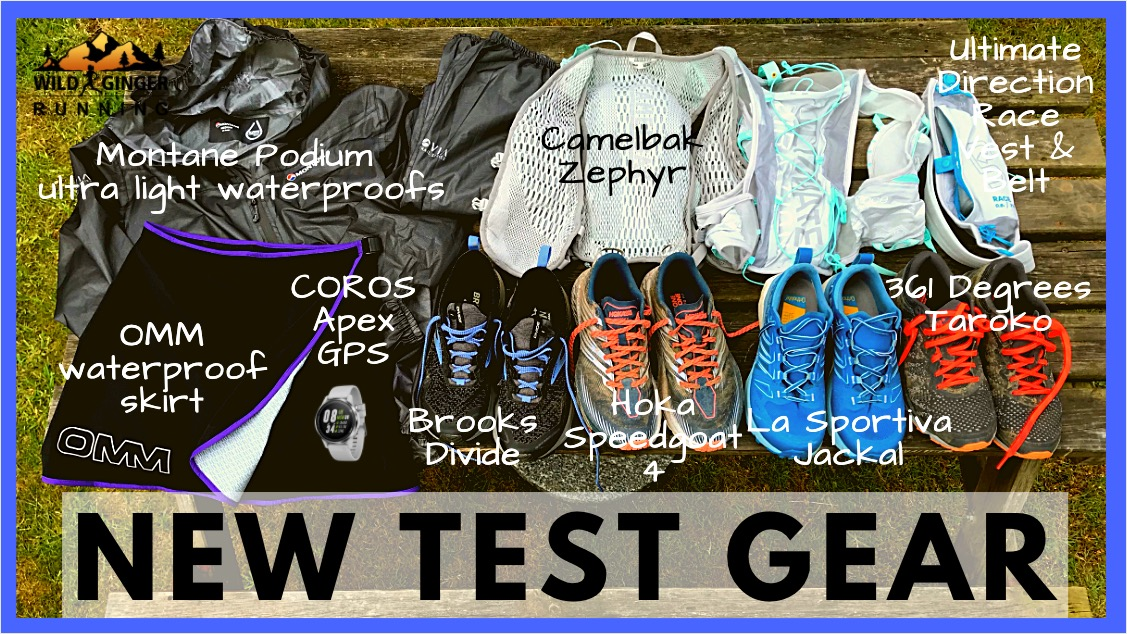 What am I testing? – NEW Spring & Summer trail & ultra running gear (LIVE CHAT)