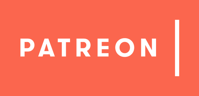 This image has an empty alt attribute; its file name is Patreon-Logo.jpg