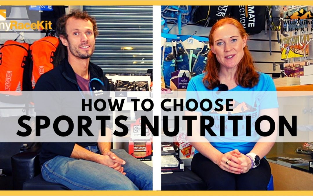 Choose the right SPORTS NUTRITION with expert advice from myRaceKit running stores