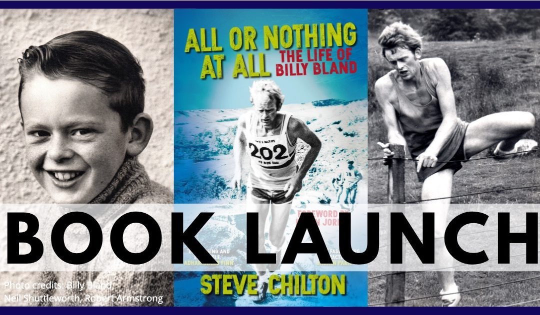 BOOK LAUNCH – All Or Nothing At All, the life of Billy Bland by Steve Chilton (feat. Billy himself!)