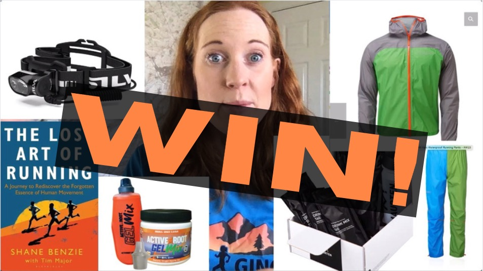 COMPETITION! September – who's won £400 worth of trail & ultra running goodies? PLUS next month's prize