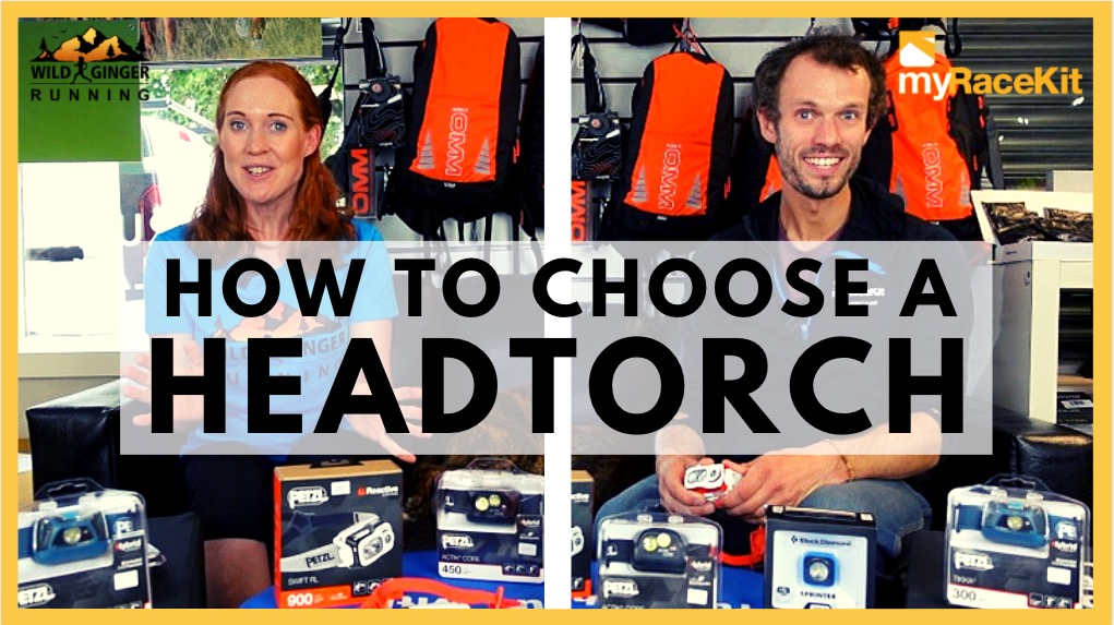 Choose the right HEADTORCH / HEADLAMP with expert advice from myRaceKit running stores