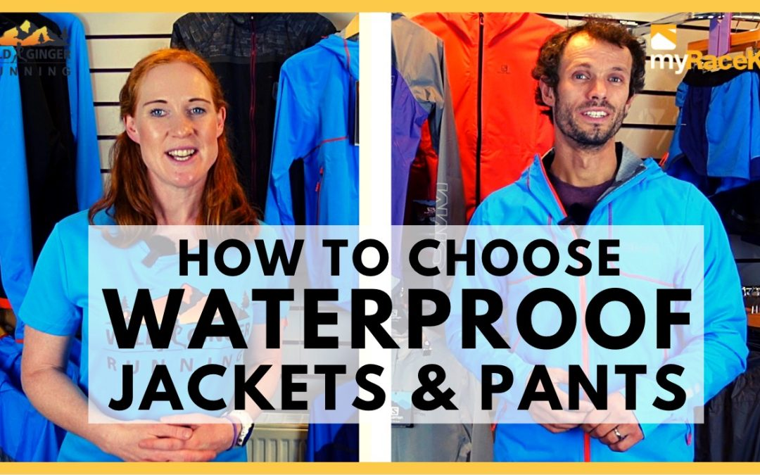 Choose the right WATERPROOF JACKET & TROUSERS with expert advice from myRaceKit running stores