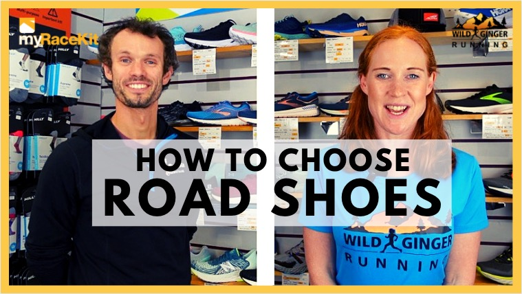 Choose the right ROAD SHOES with expert advice from myRaceKit running stores