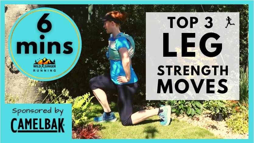 Top 3 LEG strength exercises for trail & ultra runners (easiest 6 min routine ever!)