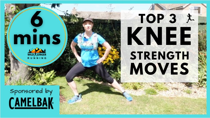 Top 3 KNEE strength exercises for trail & ultra runners (easiest 6 min routine ever!)