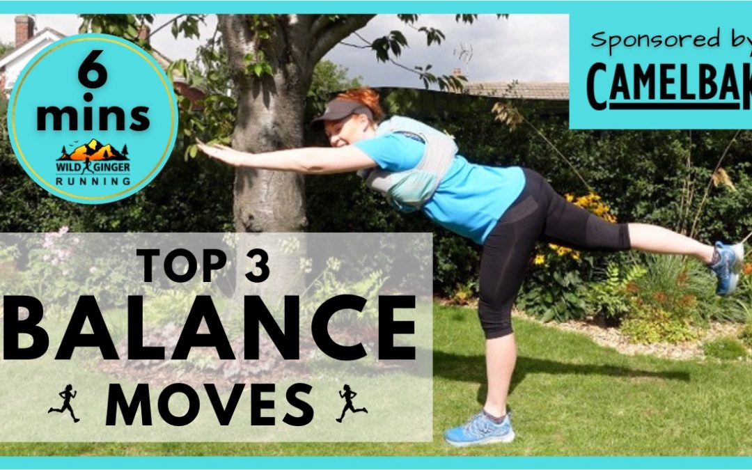 Top 3 BALANCE & COORDINATION exercises for trail & ultra runners (easiest 6 min routine ever!)