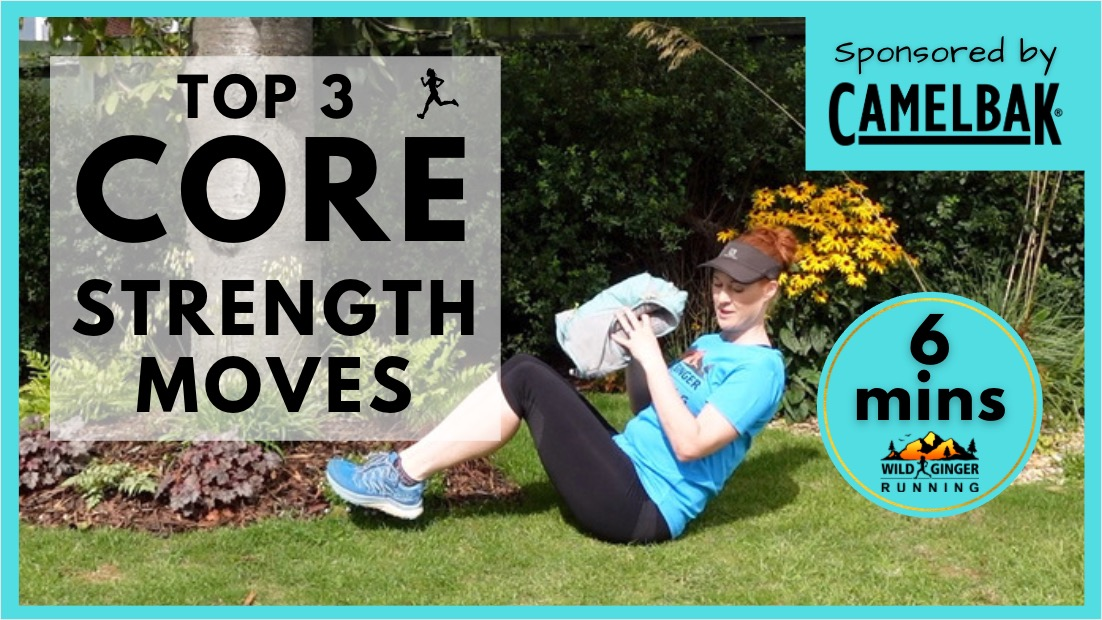 Top 3 CORE strength exercises for trail & ultra runners (easiest 6 min routine ever!)