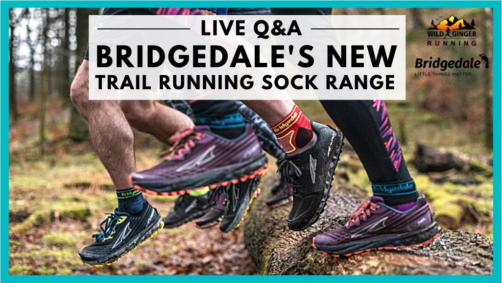 Bridgedale's NEW range of trail running socks - Q&A with a designer