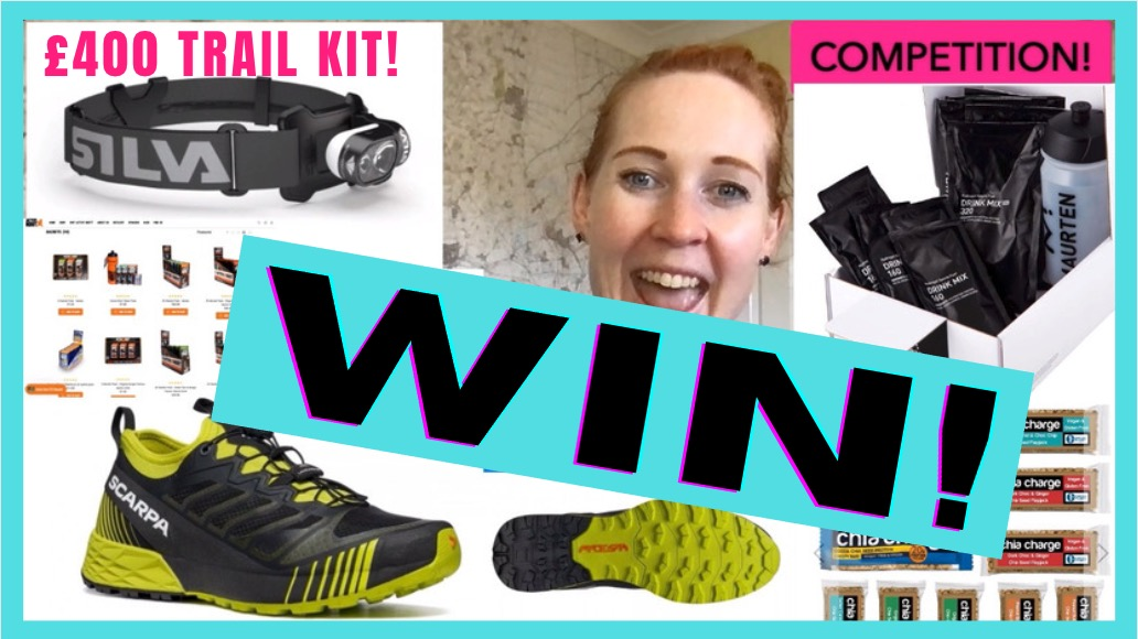 COMPETITION! July – who's won £400 trail & ultra running goodies? PLUS August's prizes