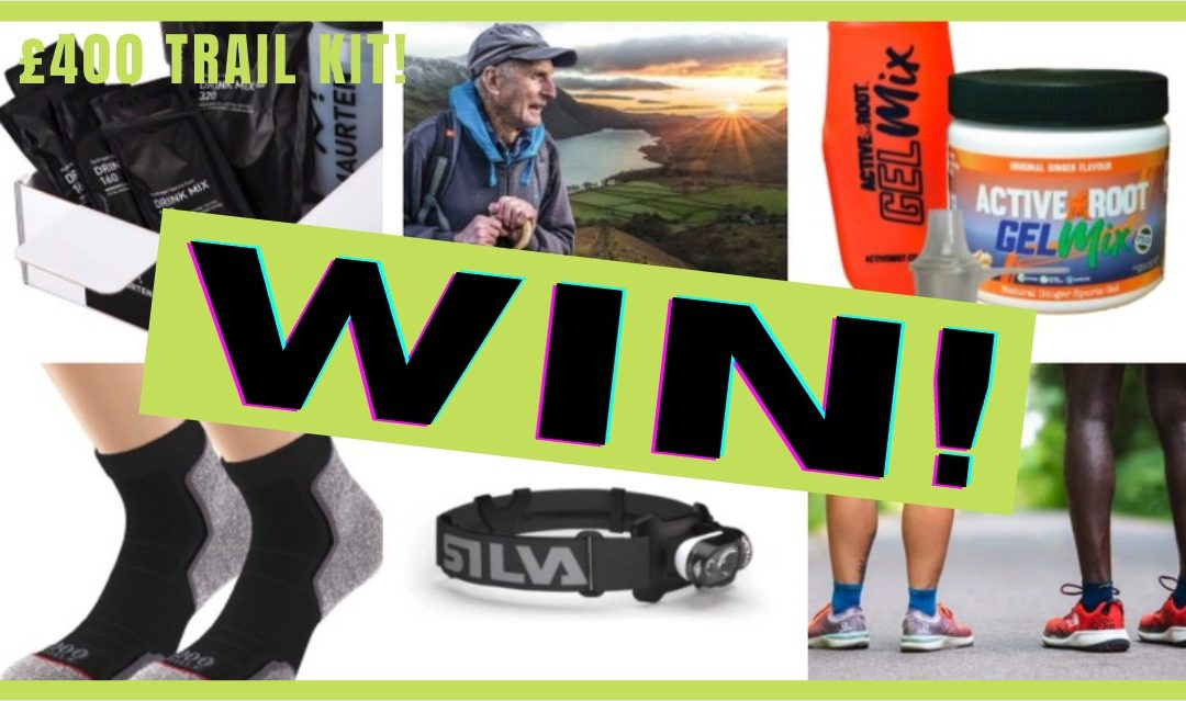 COMPETITION! September – who has won £400 worth of trail & ultra running goodies? PLUS Oct prizes
